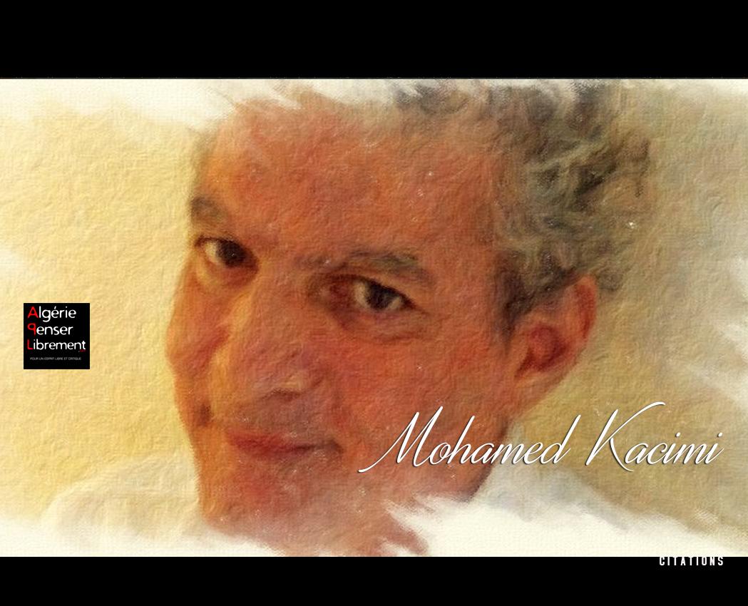 Photo of LETTRE OUVERTE AU GÉNÉRAL GAÏD SALAH PAR MOHAMED KACIMI